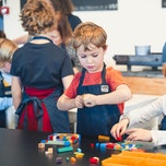 Kinderworkshop legodruk