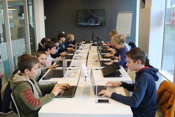 Games in de bib: Minecraft