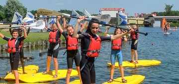 Kamp Watersportmix & Watergames in De Lilse Bergen (Lille)