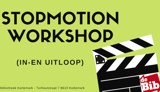Workshop 'Stopmotion' AFGELAST
