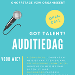 Auditiedag KidsMusical 2020 en Showgroep