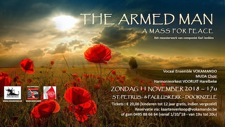 The armed man, a mass for peace.