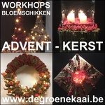 Workshops bloemschikken advent - Kerst - winter