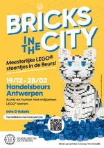 LEGO expo BRICKS IN THE CITY - fun voor jong en oud