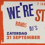 We're Still Open III - 3 jaar JH De Wauwel