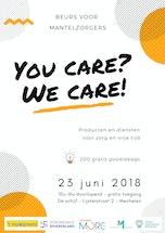 Beurs voor mantelzorgers - You Care? We Care!