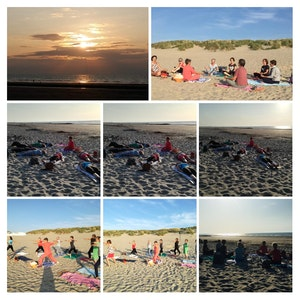 Yoga op het strand in je eigen kot - livestream via Youtube