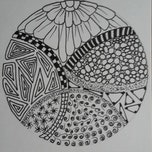 Zentangle tekenen