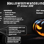 Halloweenwandeling/dropping