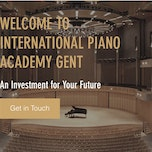 Piano lessen in International Piano Academy Gent